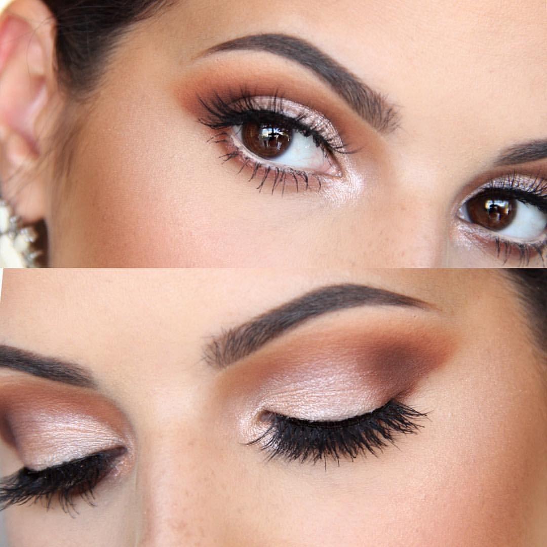 Love This Terra Cotta Eyeshadow Look Oval Makeup Brush Set