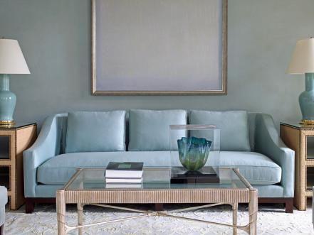 Blue Color Living Room Designs Color Guide  Hgtv Designers Chrome And Hgtv