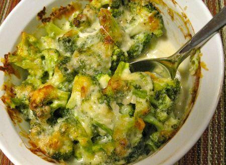 Broccoli and Gruyere Gratin