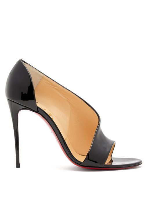 Phoebe 100 patent-leather pumps Christian Louboutin KTiQrkg4w
