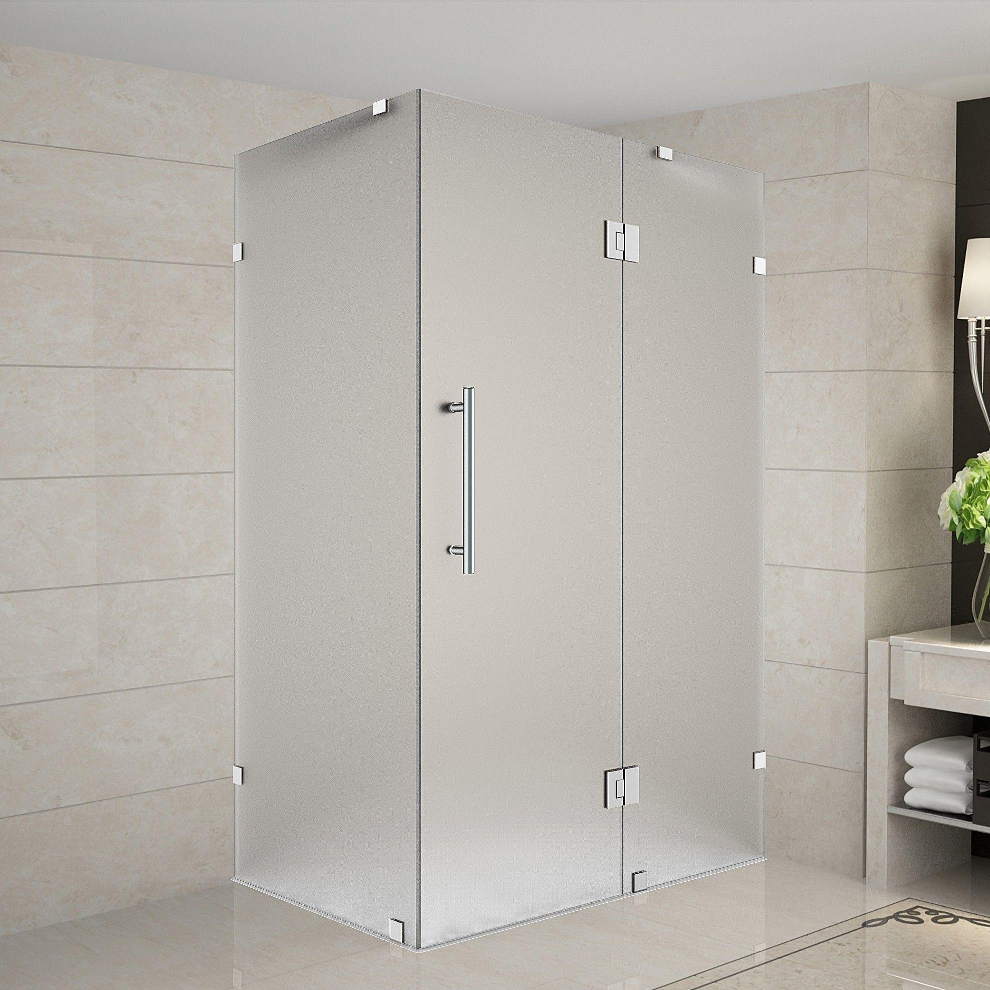 Avalux 32 X 72 Square Hinged Shower Enclosure Koupelna