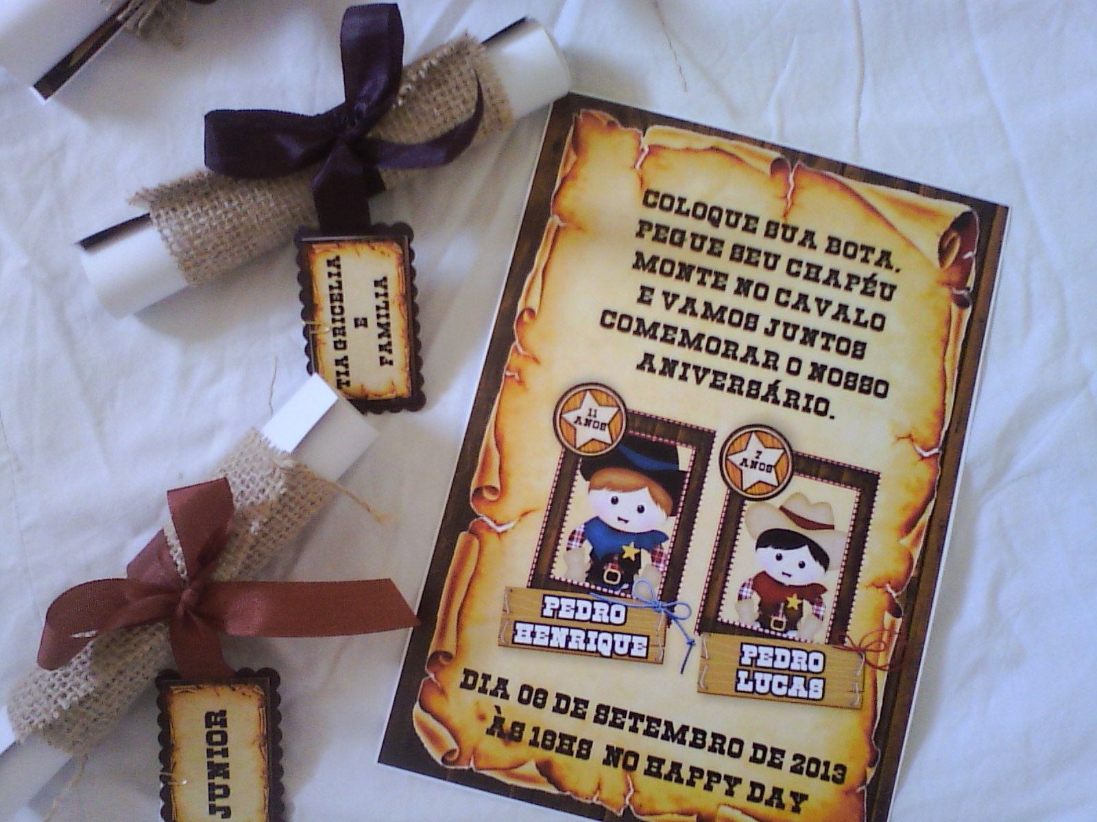 Convite Infantil Festa Country. Mais Informações e Orçamento pelo e-mail  jannainamelo ig.com.br 58026a5a17f