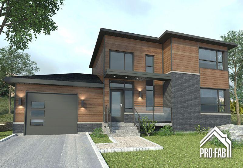 Exelsa maison usin e et pr fabriqu e groupe pro fab inc home exterior maison modulaire - Constructeur maison modulaire ...