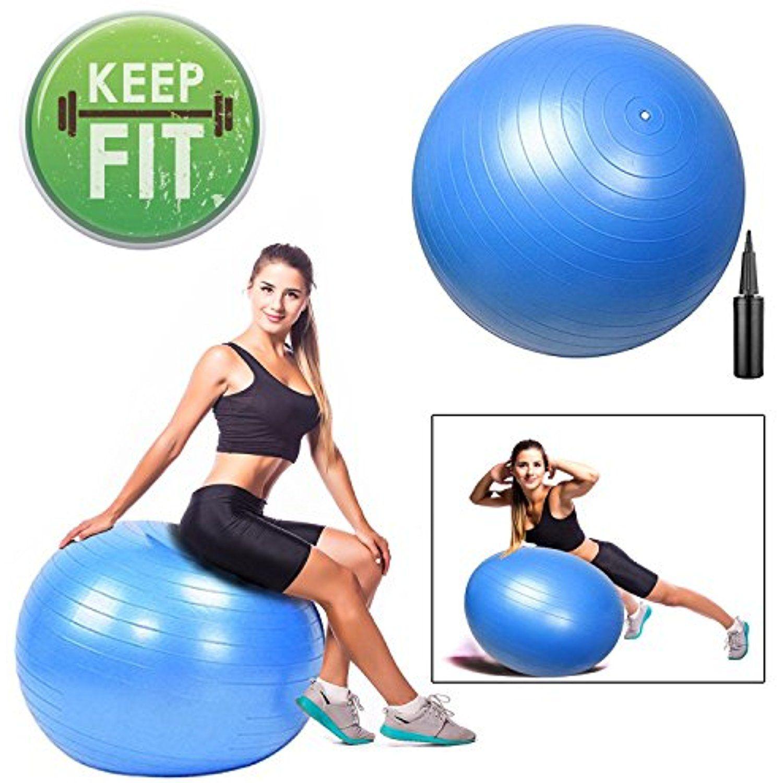 GC Global Direct 75CM Gym Stability Ball Yoga Pilates Ball