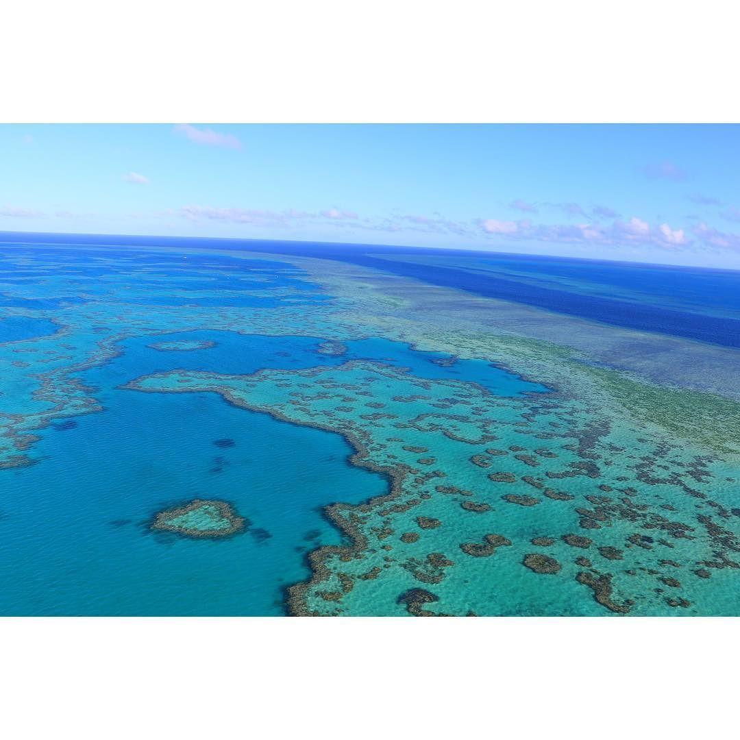Love is found in the Great Barrier Reef #heartreef #australia #greatbarrierreef #skyview #whitsundayislands by sydneydv http://ift.tt/1UokkV2