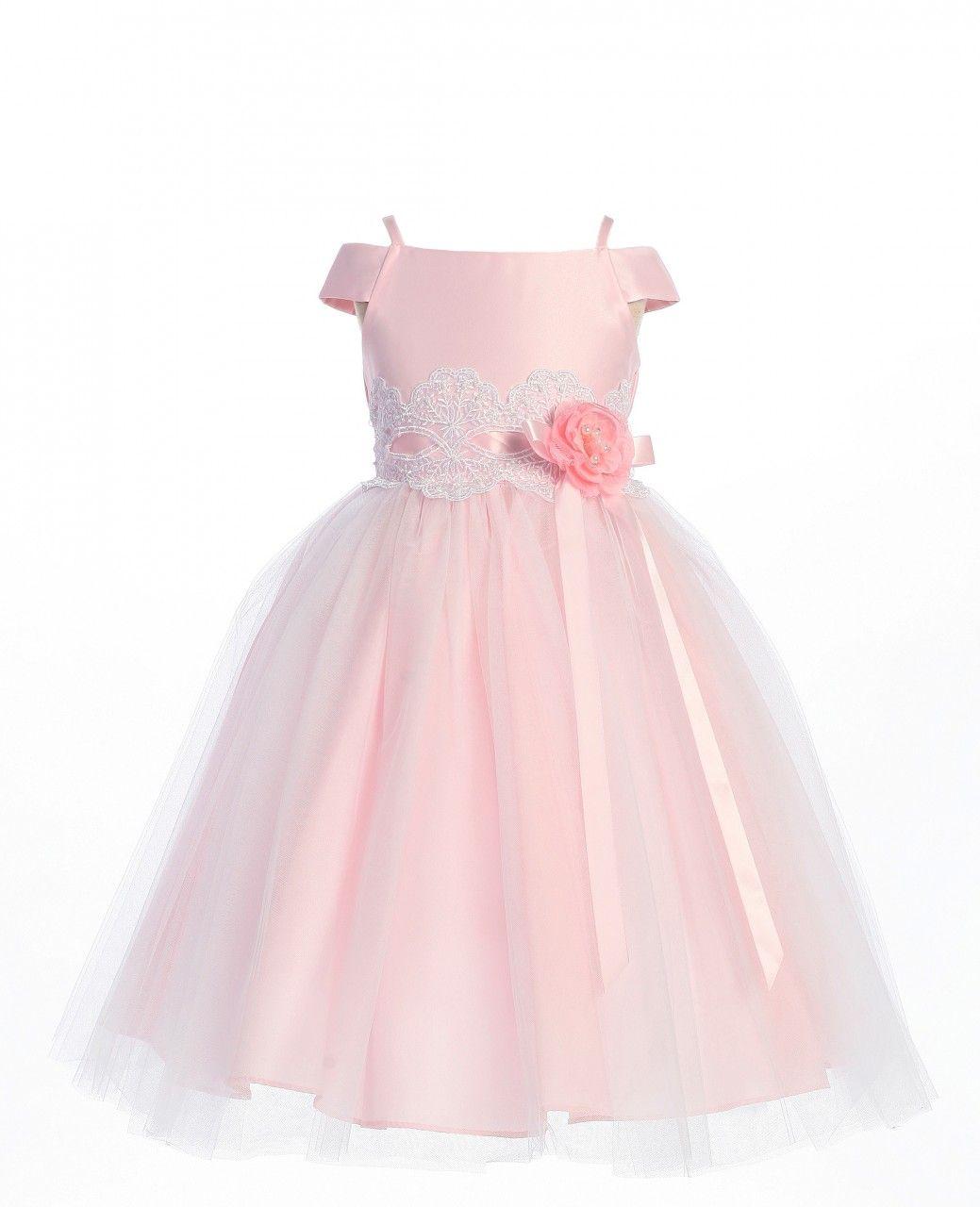Flower girl dress freya pink flower girl dress exquisite flower flower girl dress freya pink flower girl dress exquisite flower girl dress with a satin ombrellifo Choice Image