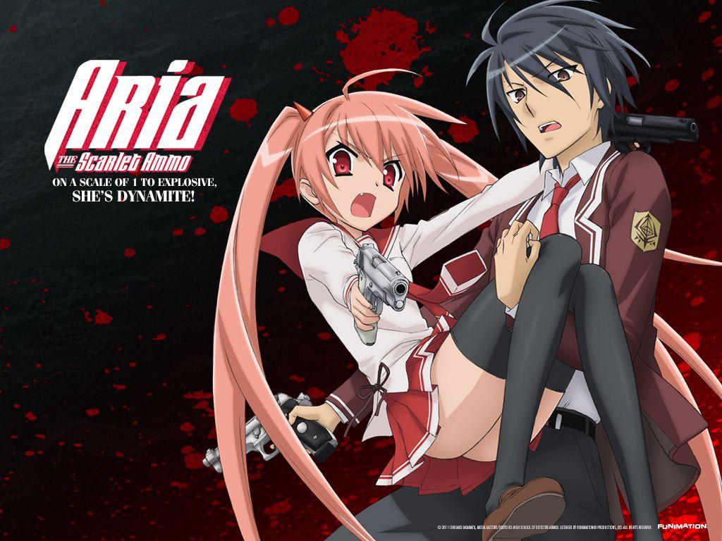 Aria The Scarlet Ammo Aria Anime Life Anime Nerd