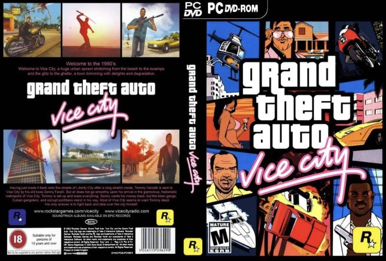 Gta Vice City Cover