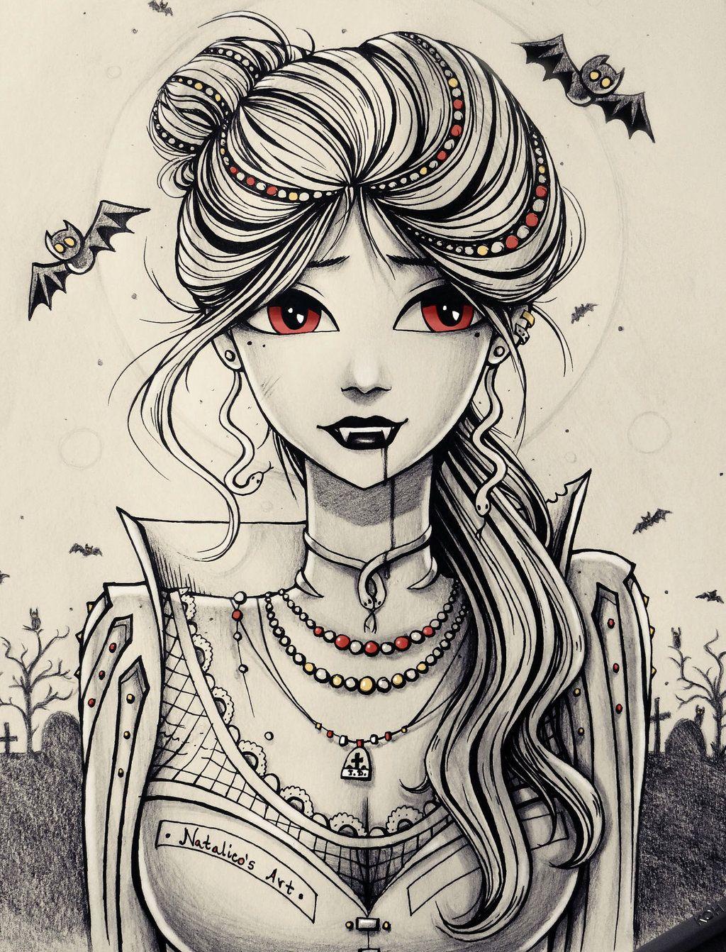 Vampire by natalico deviantart com on deviantart