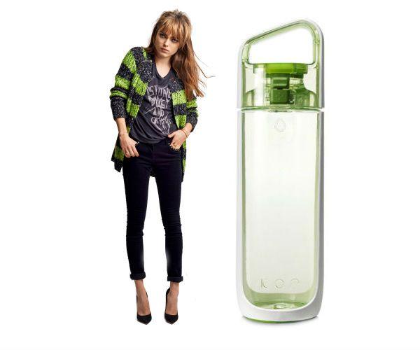 KOR is echt fashionable. Zo ook deze groene gecombineerd met Scotch & Soda Fall Collection 2013
