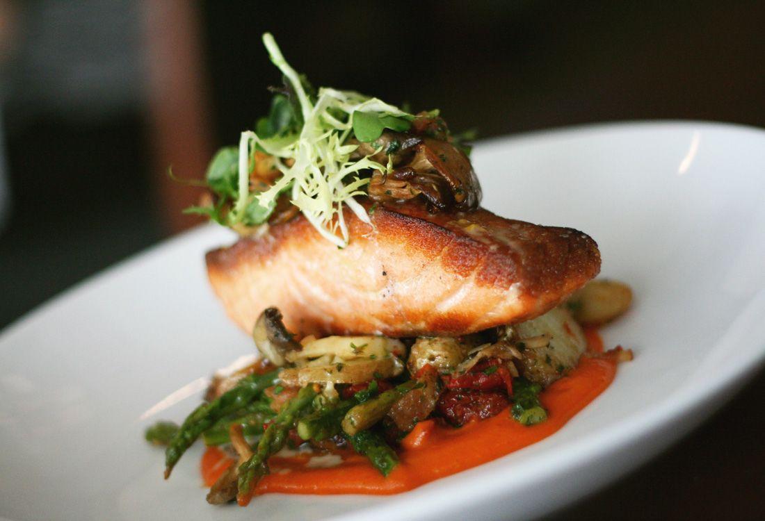 Waypoint seafood oven roasted faroe island salmon