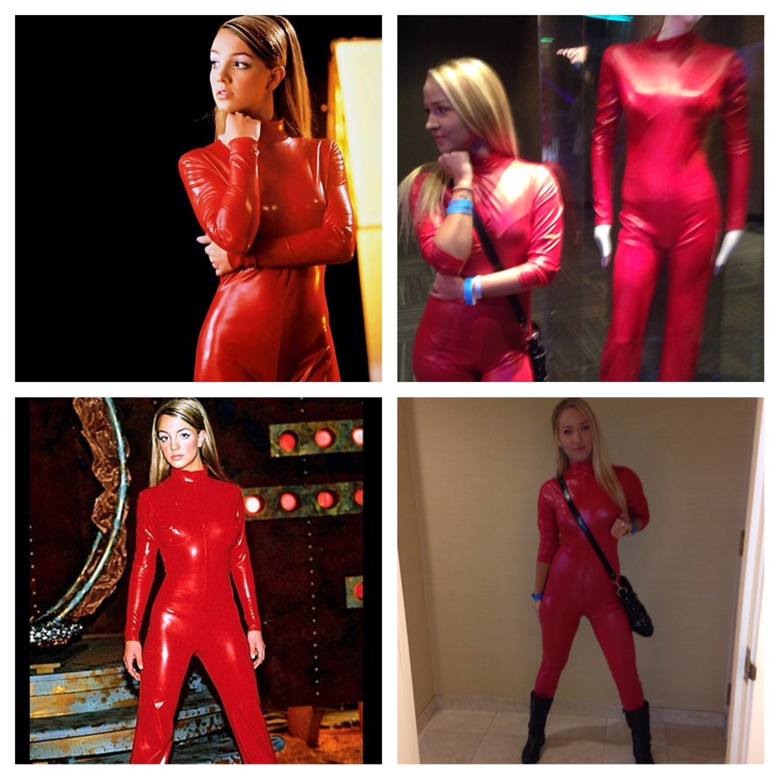 Britney Spears Oops I Did It Again Red Costume