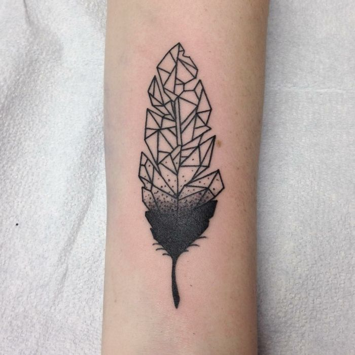 ▷ 1001 + ideas sobre tatuajes de plumas con encanto - tatuajes de plumas