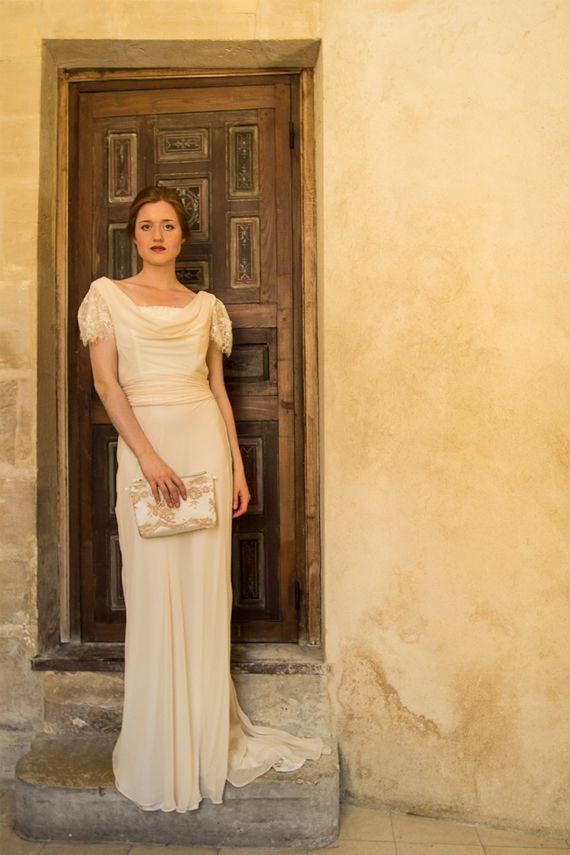 Robe de mariee vintage annee 30