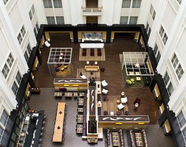 The Nines A Luxury Collection Hotel Portland Oregon Tetris