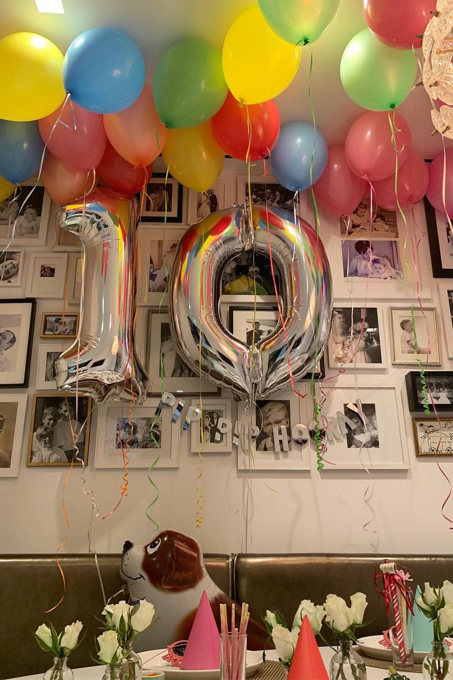 Balloon-filled Double-digit Birthday Party