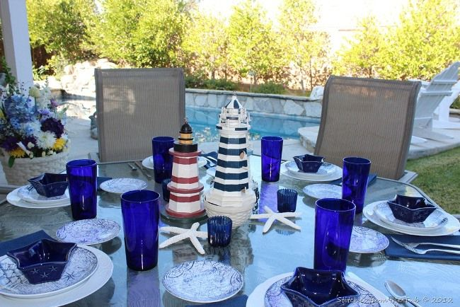 Good Beautiful Summertime Tablescapes