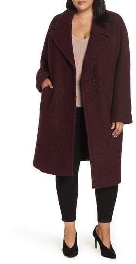 ab3bdf73c51 RACHEL Rachel Roy Oversized Boiled Wool Coat - Plus Size