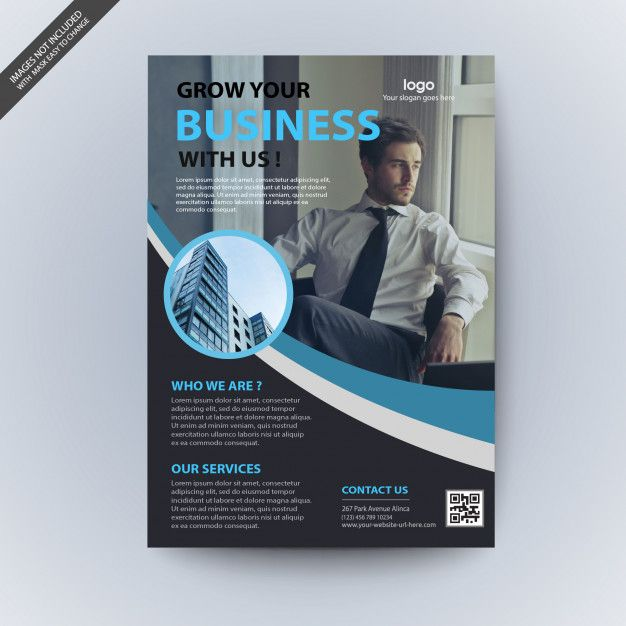 wavy corporate business flyer template download thousands of free