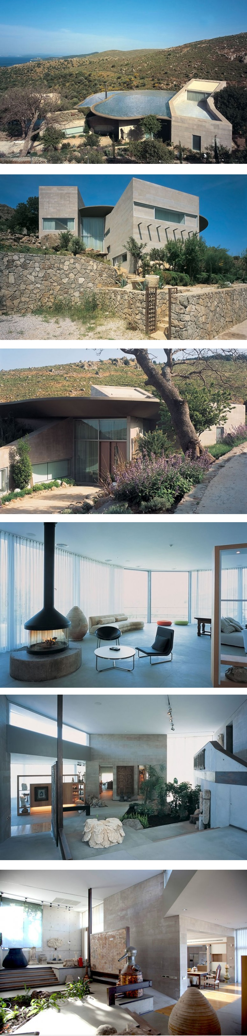 Exploded House In Bodrum By Gokhan Avcioglu Architecture Bodrum House