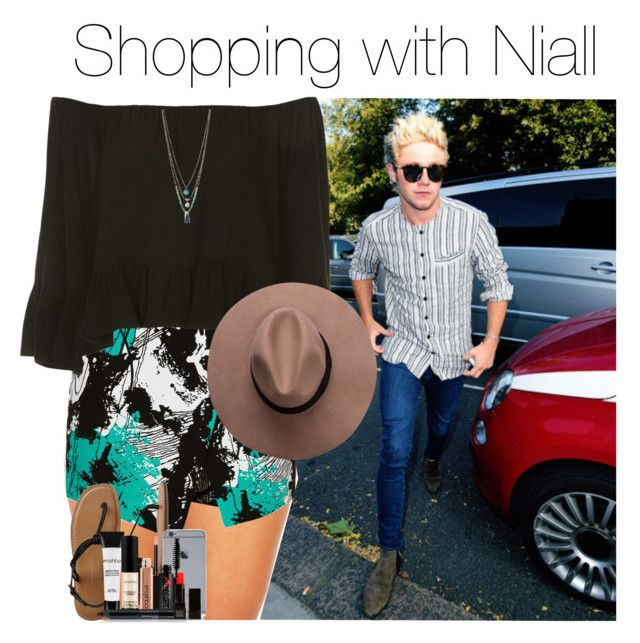 """Shopping with Niall"" by itsnandaworld ❤ liked on Polyvore featuring Topshop, Kenneth Cole, Gap, Smashbox and Make"