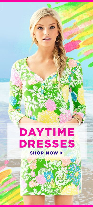 Shop Daytime & Casual Dresses From Lilly Pulitzer