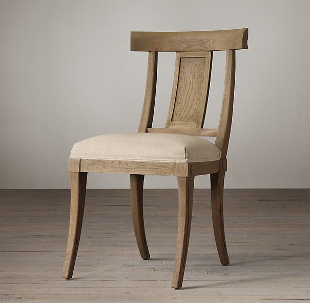 New dining table chairs from Restoration Hardware - Klismos Wood ...
