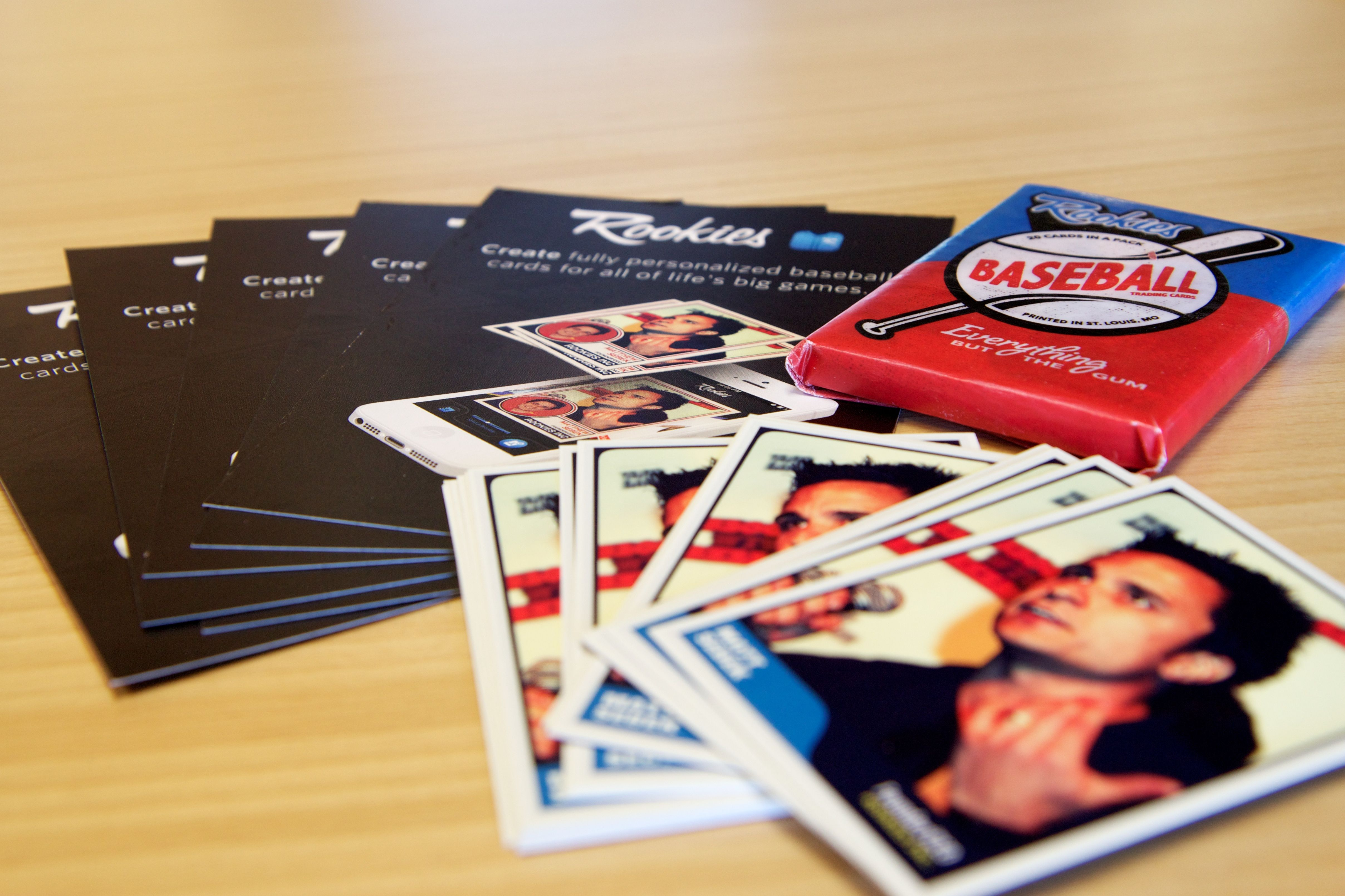 Custom Baseball Cards For Groomsmen Gifts