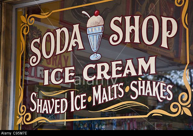 f844813c092 Old-Fashioned Ice Cream Signs