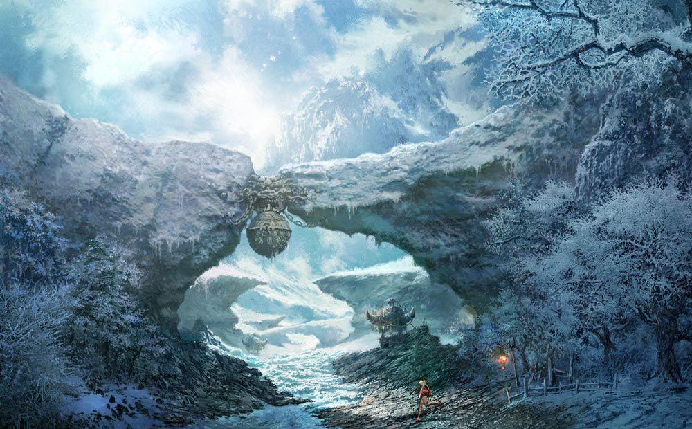 Frozen Landscape - Characters & Art - Blade & Soul