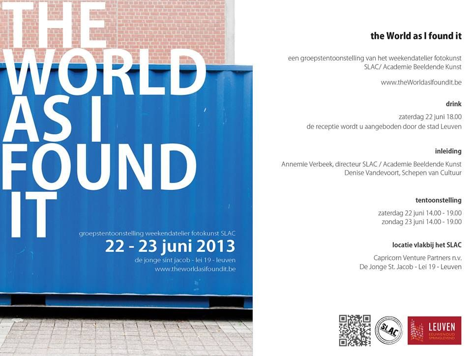 the World as I found it  expo zaterdag 22 juni 14.00 - 19.00  zondag 23 juni 14.00 - 19.00