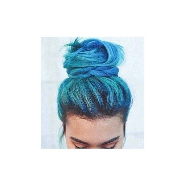 We ❤ It ❤ liked on Polyvore featuring accessories, hair accessories, hair and blue hair accessories
