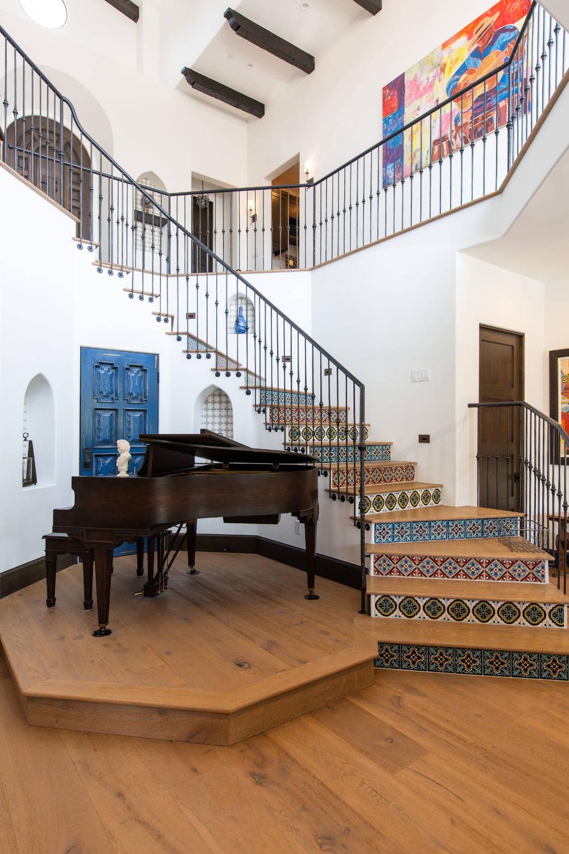 Palos Verde Est. Spanish Home   Mediterranean   Staircase ...