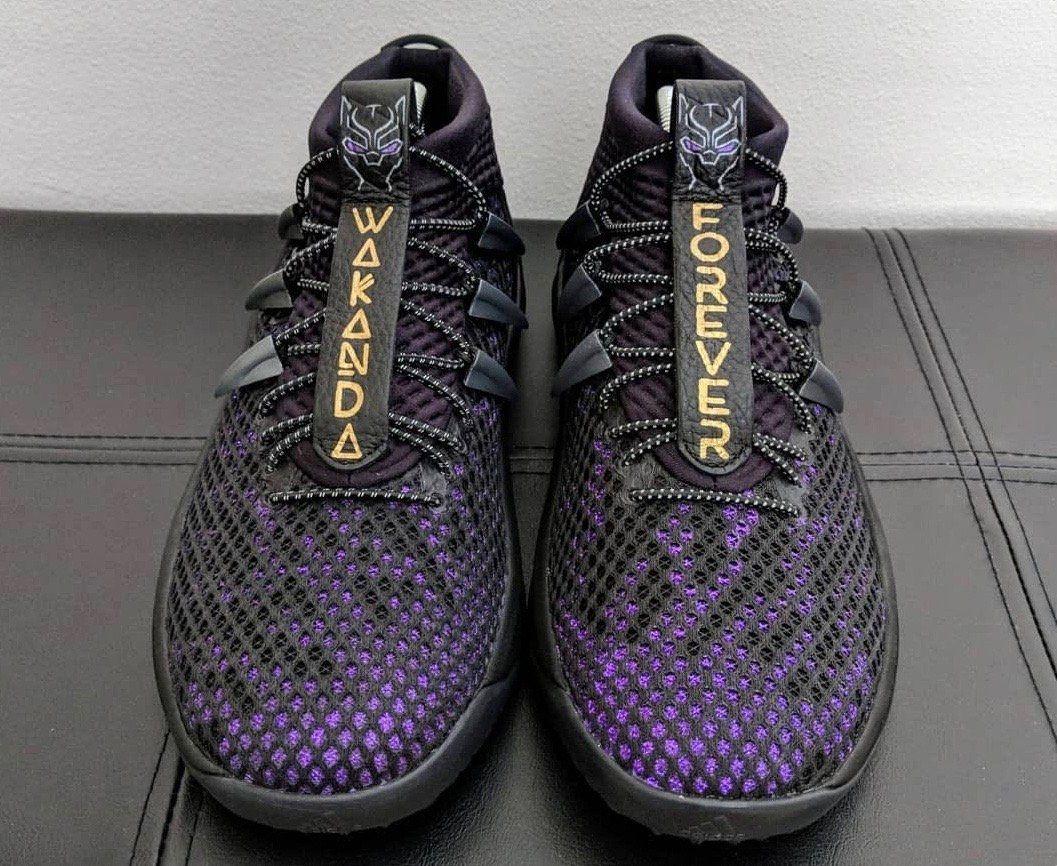 3aa1eab99581fa NBA s Damian Lillard Debuts  Wakanda Forever  Adidas Sneaker with   Vibranium  Upper