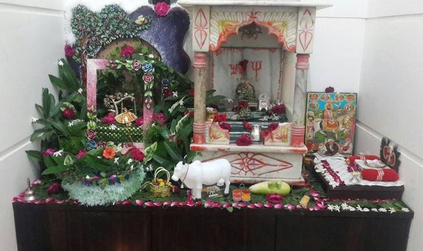 Janmashtami Decoration Ideas Pooja Room Design