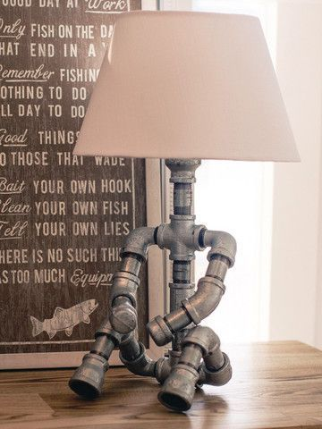 how to make floor lamps at home