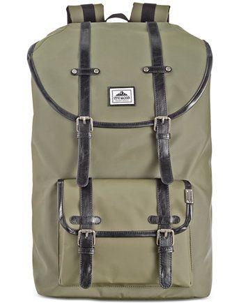 Steve Madden Men s Coated Utility Backpack  838ce91e019ba