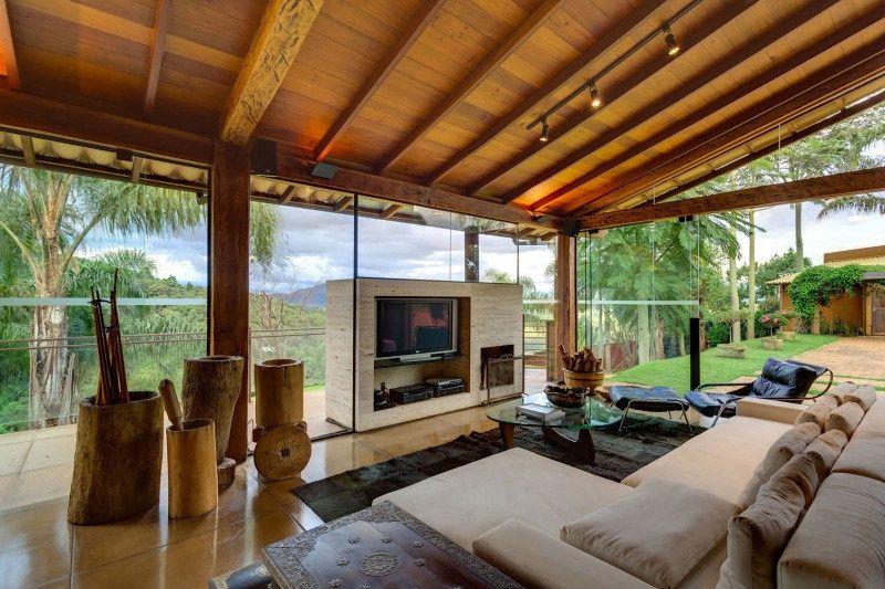Casa De Campo Moderna De Tirar O Folego Design De Casa De Campo Casa De Campo Casas