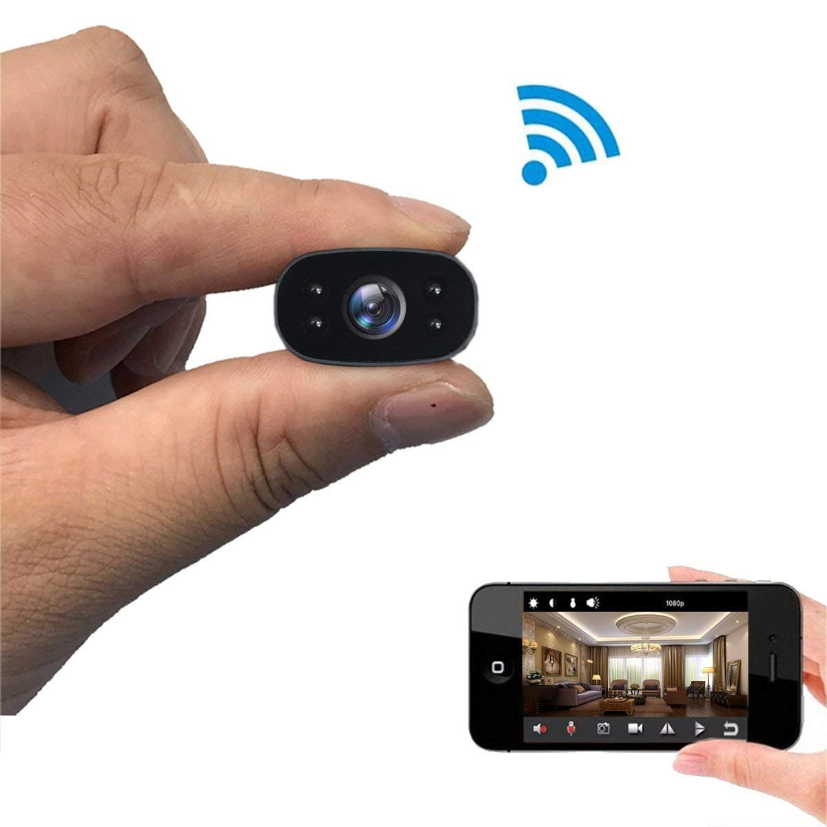Mini Caméra IP espion Wifi avec la transmission en direct