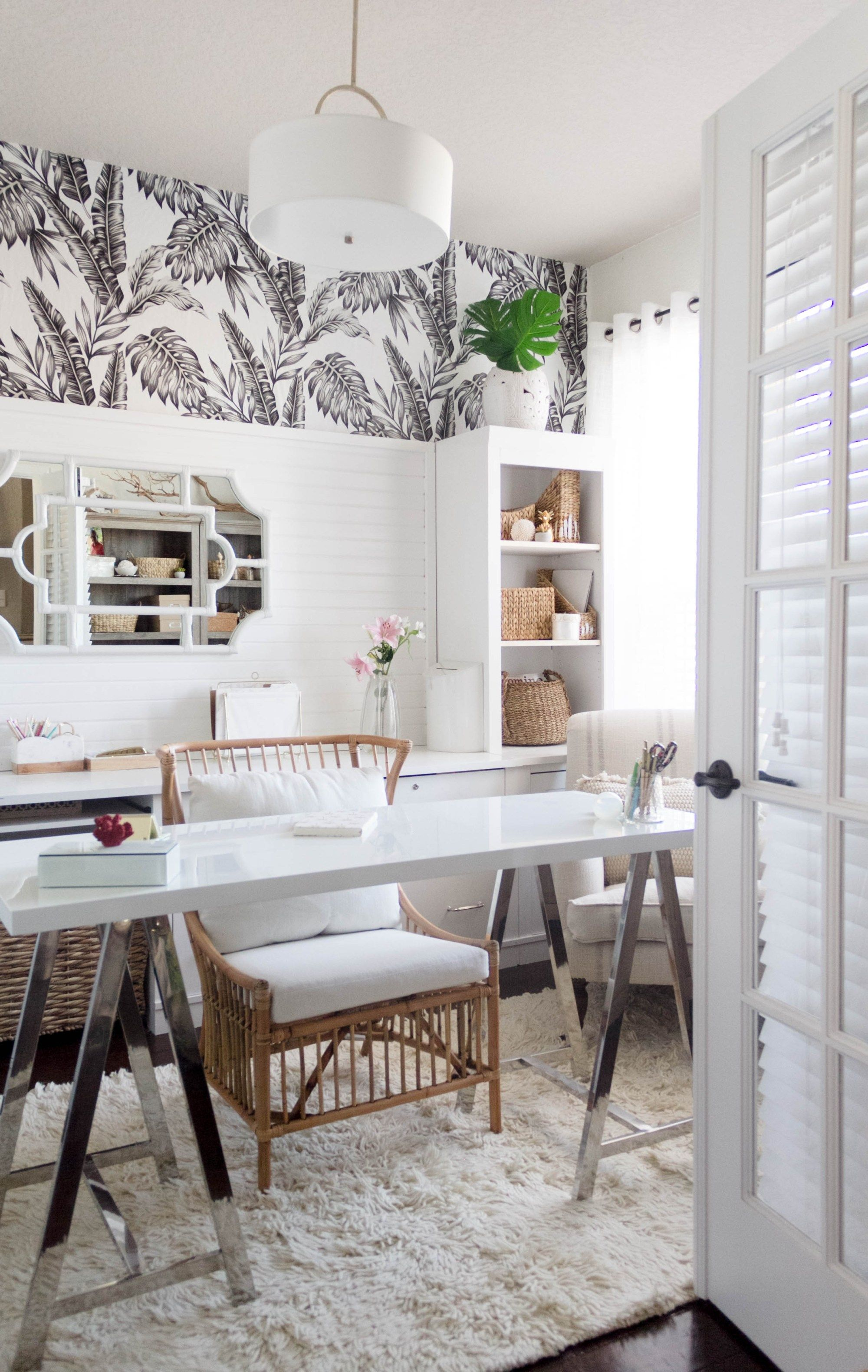 New Year, New Room: Office Refresh (A Tropical-Chic Home ...