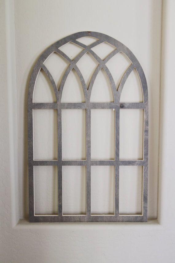 16 Arched Window And Mirror Decor Ideas Vintage Church Window