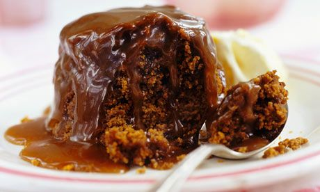 How to cook perfect sticky toffee pudding