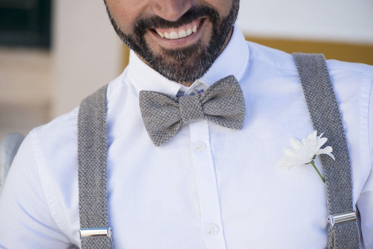 Suspenders /& Bowtie Matching Set Man Mens Adult Black Formal Wear NEW Men