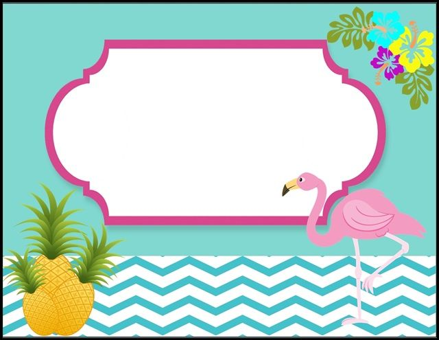 Convite De Flamingos Grátis Flamingo Birthday In 2019 Pinterest