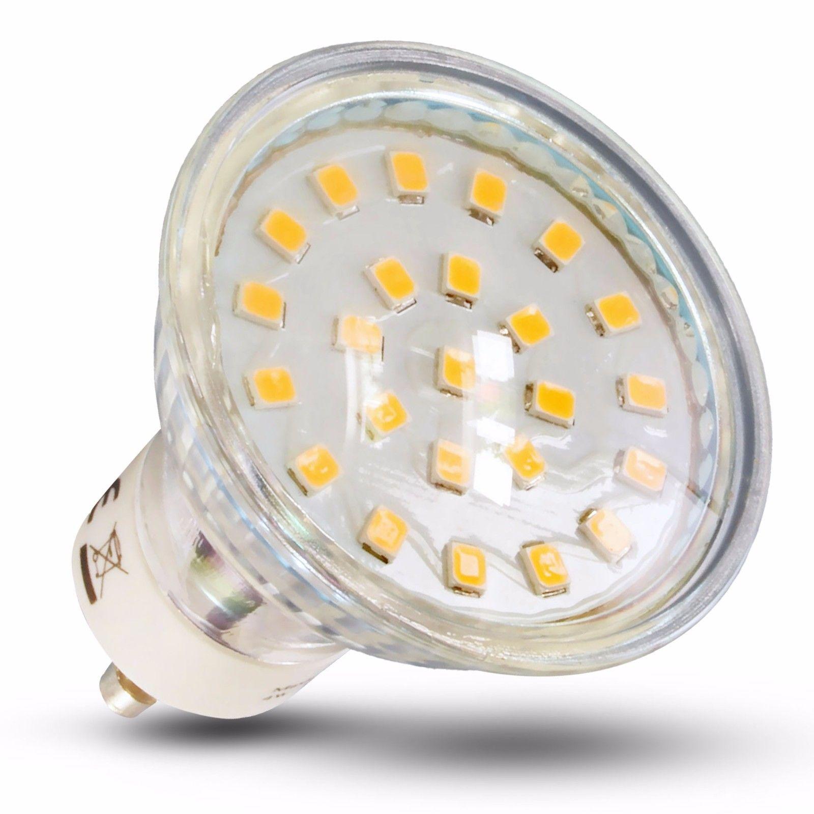 Details Zu Led Leuchtmittel Lampe Gu10 4w Smd Strahler