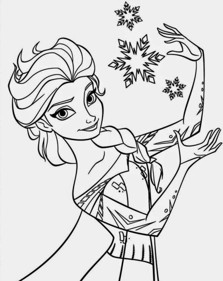 Desenhos Frozen Para Imprimir E Pintar Desenhos Para Colorir