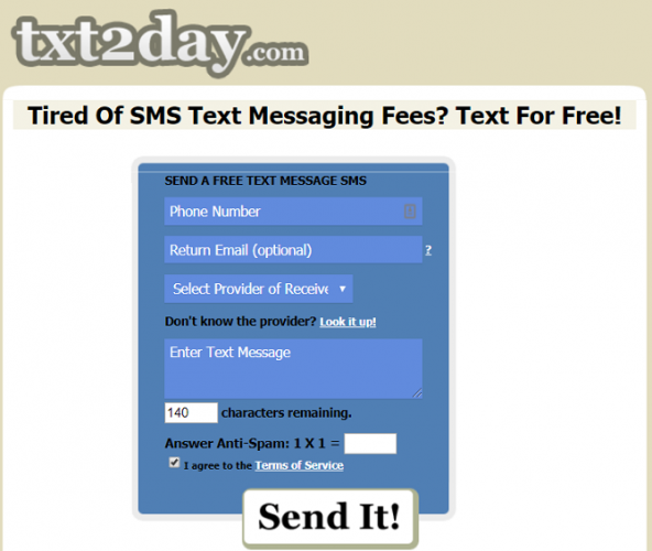 7 Sites to Send Free Text Messages to Cell Phones (SMS