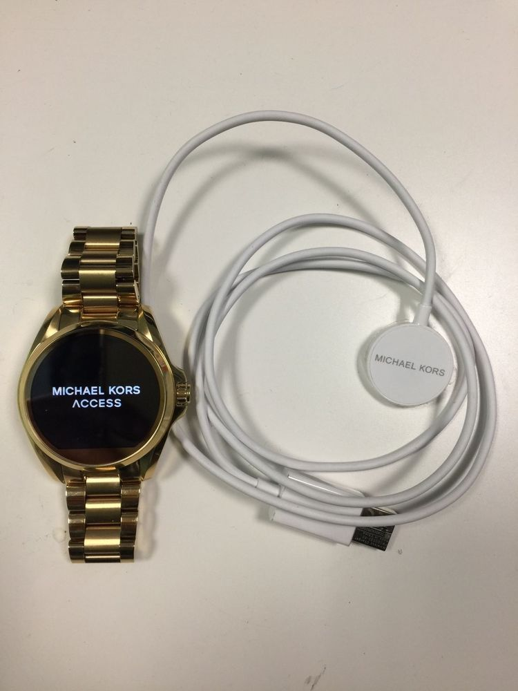 5f8fc57a89f18 Used Michael Kors Access Touch Smartwatch Gold MKT5001  MichaelKors  Luxury