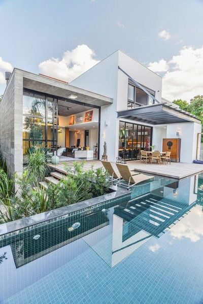 eleg ncia e volumetria cruas luxurious houses exterior rh pinterest com