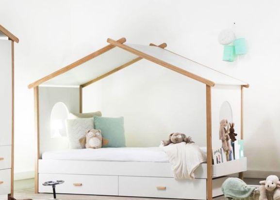 Birdy Lit cabane enfant Blanc Miliboo Un superbe lit idéal
